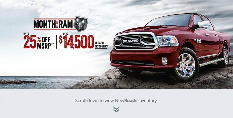 Ram Truck Specials