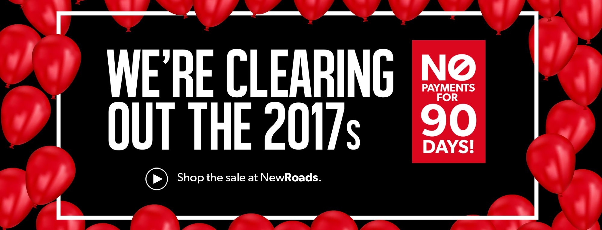 2017 Inventory Clearout Newmarket