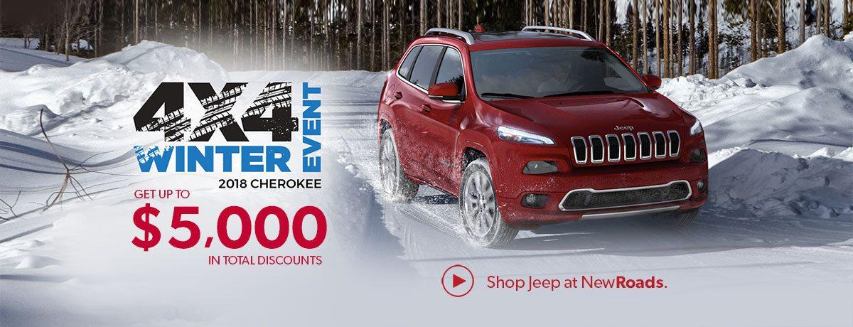 Jeep Newmarket dealer specials