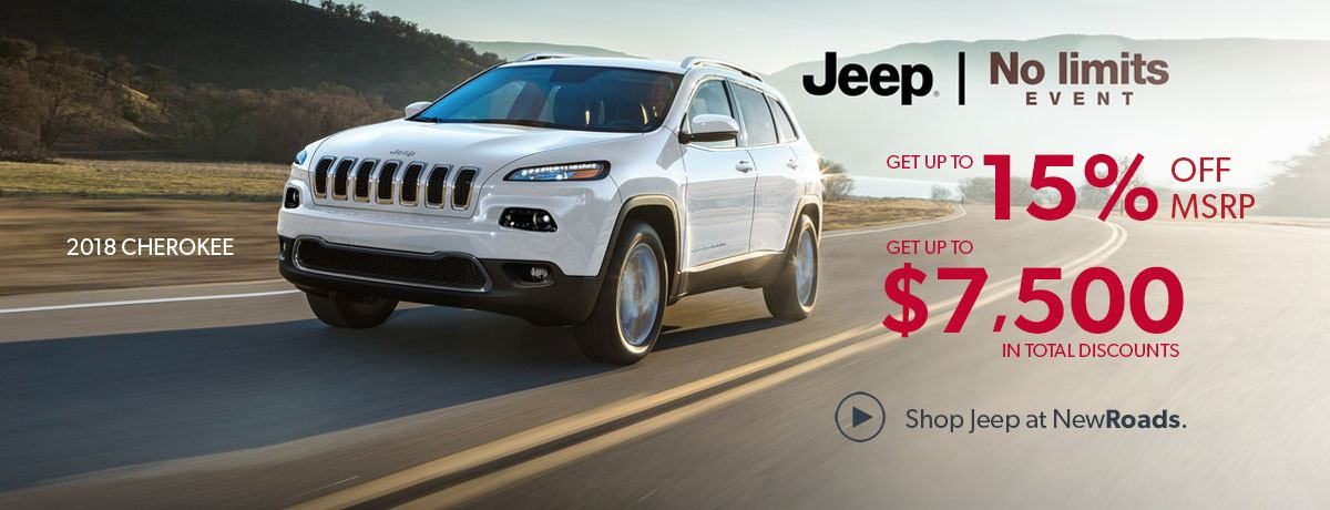 Jeep sales special newmarket