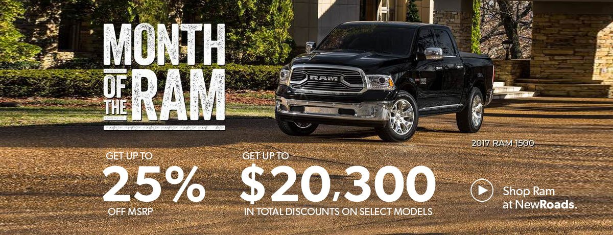 Ram sales special newmarket
