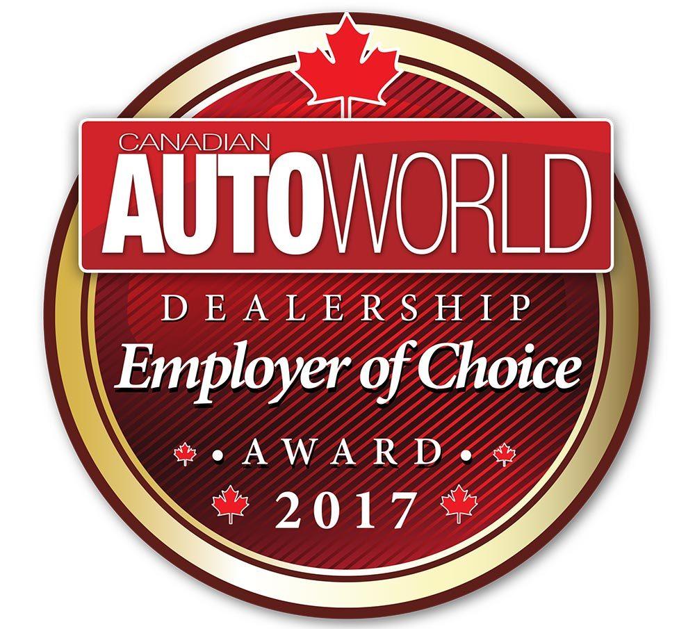 Dealership Employer of Choice Award
