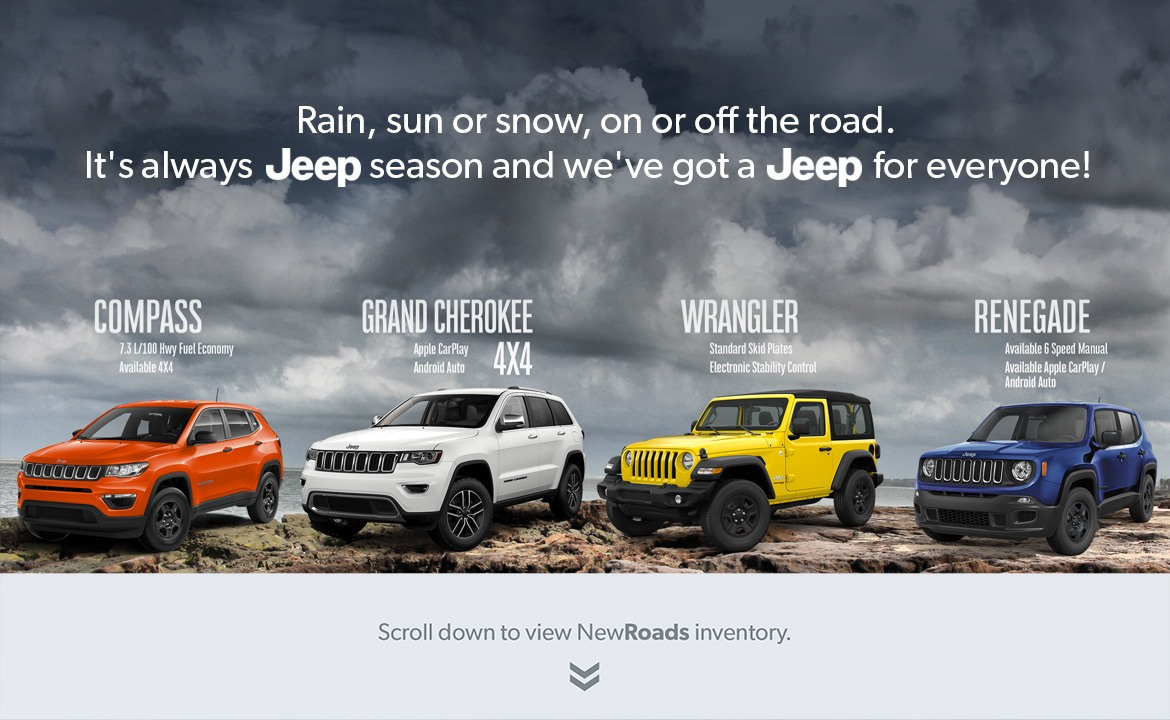 Jeep for sale in Newmarket
