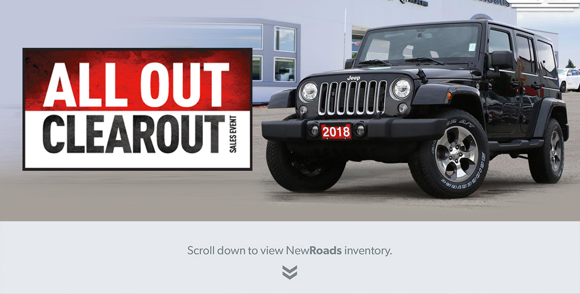 Jeep Wrangler for sale in Newmarket