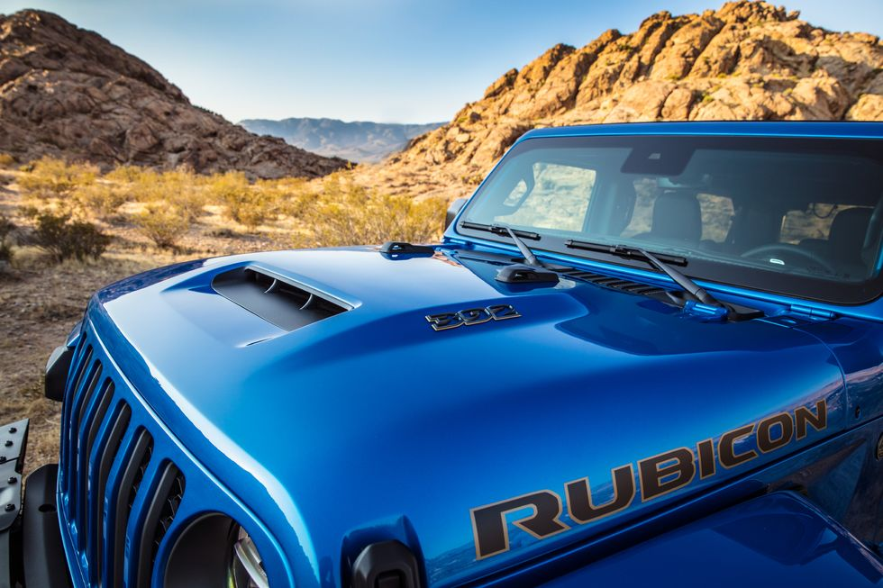 Rubicon 392 HEMI Engine