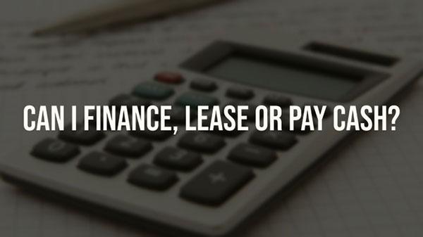 Chrysler Advantage Plan Finance Lease
