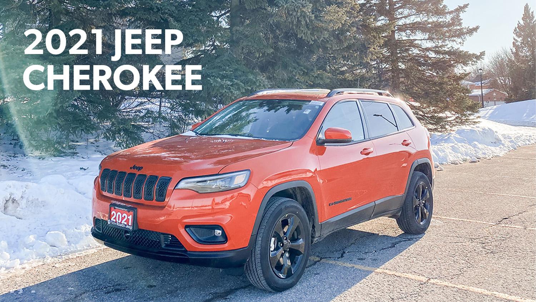 Jeep Cherokee in Newmarket Ontario