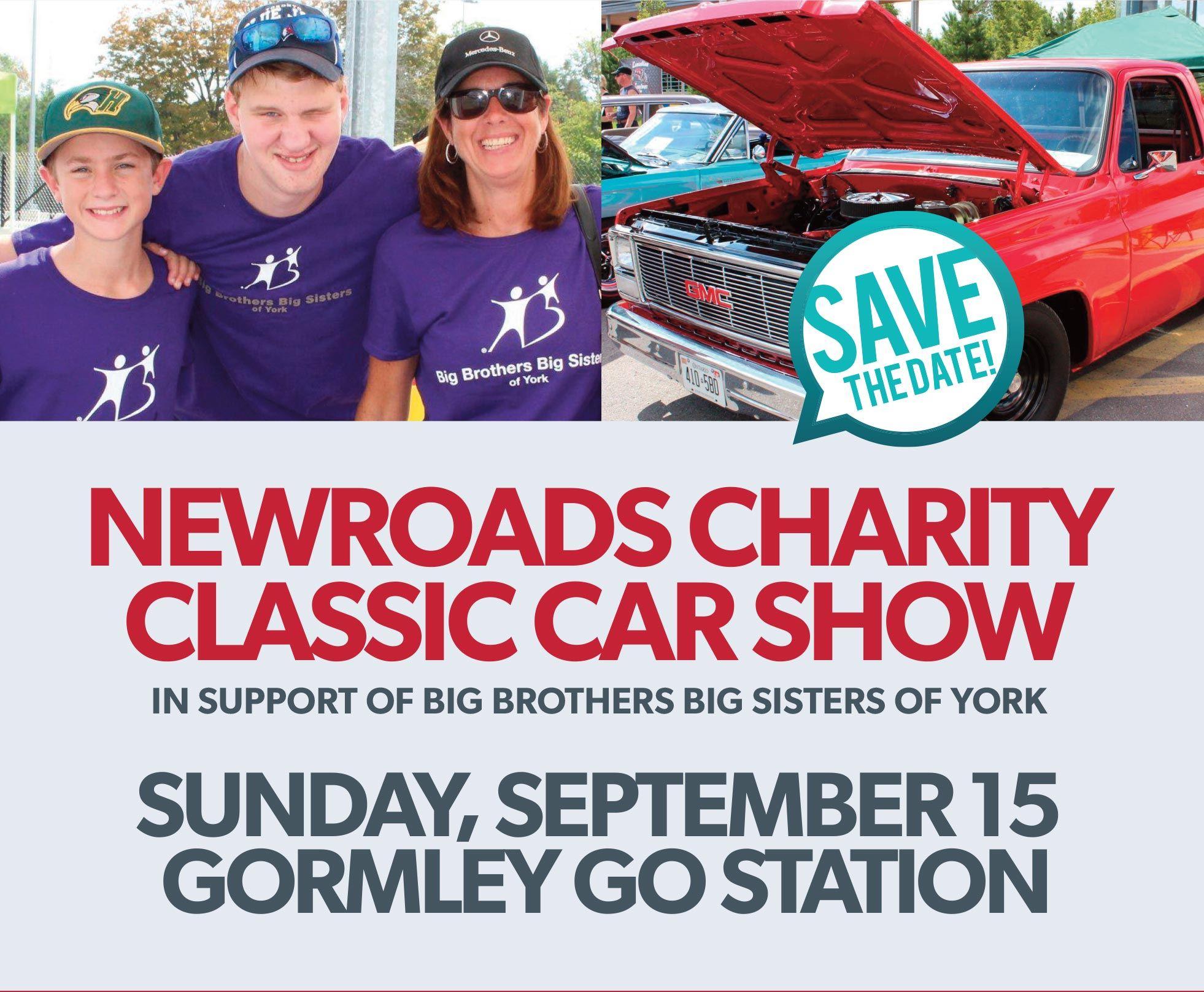 NewRoads Charity Classic Car Show